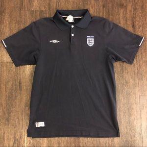 Official Men's Umbro Football/Soccer Polo | VGC